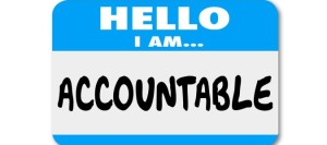 I am Accountable small wide