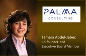 Tamara Abdel-Jaber is a co-founder and an executive board member at Palma. As Executive Board Member, she is responsible for strategy, corporate governance, performance management and business development.