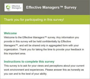 Employee Engagement – Manager Effectiveness Assessment Solutions
